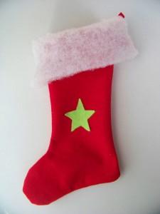 chaussette de Noël dans decoration NoÃ«l 103_57721-225x300